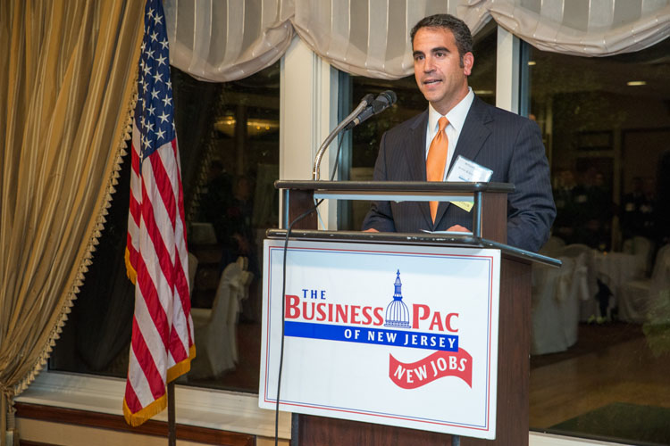 Bill Caruso Chairs NEW JOBS Reception